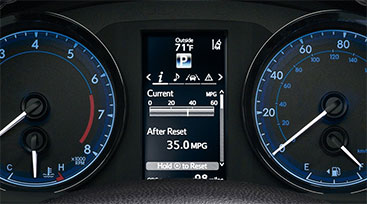 Toyota Dashboard Cluster